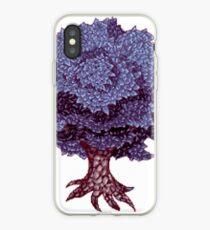 Pixel Art Tree C1 iPhone Case