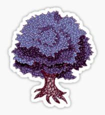 Pixel Art Tree C1 Sticker