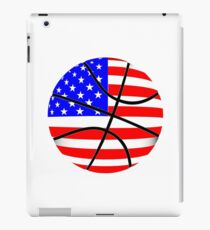 Basketball USA Flag Art iPad Case/Skin