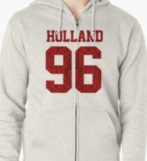 Holland Zipped Hoodie