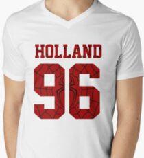 Holland T-Shirt mit V-Ausschnitt