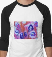 Purple and Orange Abstract T-Shirt