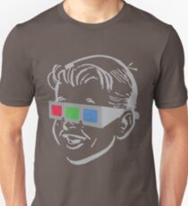 RGB glasses Unisex T-Shirt