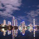 Gold Coast Skyline by Peter Doré