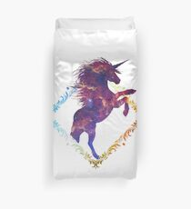 Galactical Unicorn. Duvet Cover