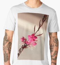 single pink floweR Men's Premium T-Shirt