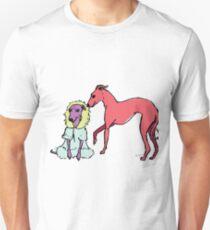Italian Greyhound and Sighthound Unisex T-Shirt