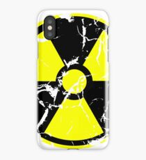 Radiation / Nuclear Decayed (Yellow) iPhone Case/Skin