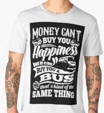 Happiness is a bay bus Men's Premium T-Shirt