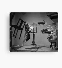 Dali Atomicus - by Philippe Halsman - Enhanced Canvas Print