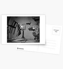 Dali Atomicus - by Philippe Halsman - Enhanced Postcards