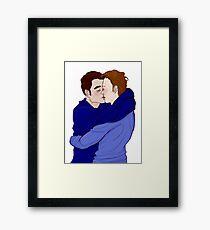 Kiss - Mystrade Fanart Framed Print