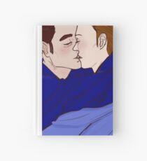 Kiss - Mystrade Fanart Hardcover Journal