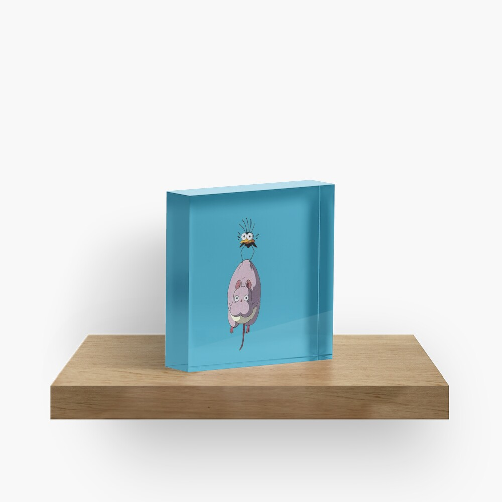 Spirited away Acrylic Block