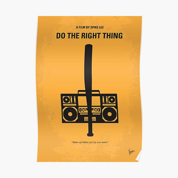 Do the Right Thing FRIDGE MAGNET movie poster