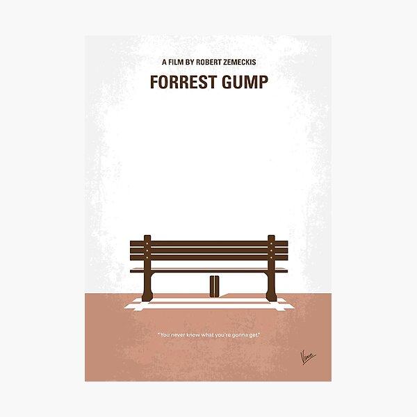 No193- Forrest Gump minimal movie poster Photographic Print