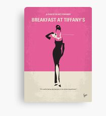 No204- Breakfast at Tiffanys minimal movie poster Canvas Print