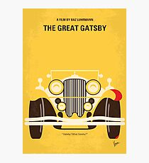 No206- The Great Gatsby minimal movie poster Photographic Print