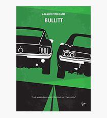No214- BULLITT minimal movie poster Photographic Print