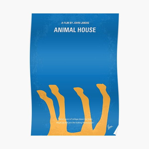 No230- Animal House minimal movie poster Poster