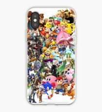 Super Smash Bros characters iPhone Case