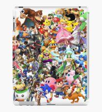 Super Smash Bros characters iPad Case/Skin