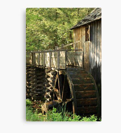 Mill Wheel Canvas Print
