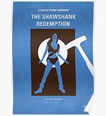 No246- THE SHAWSHANK REDEMPTION minimal movie poster Poster