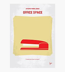 No255- OFFICE SPACE minimal movie poster Photographic Print