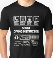 SCUBA DIVING INSTRUCTOR BEST DESIGN 2017 T-Shirt