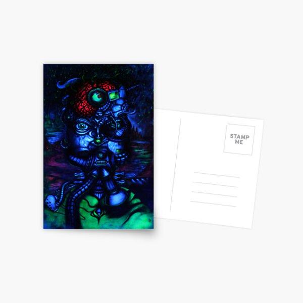 MONA LISA de la MANCHA 2081+ Postcard