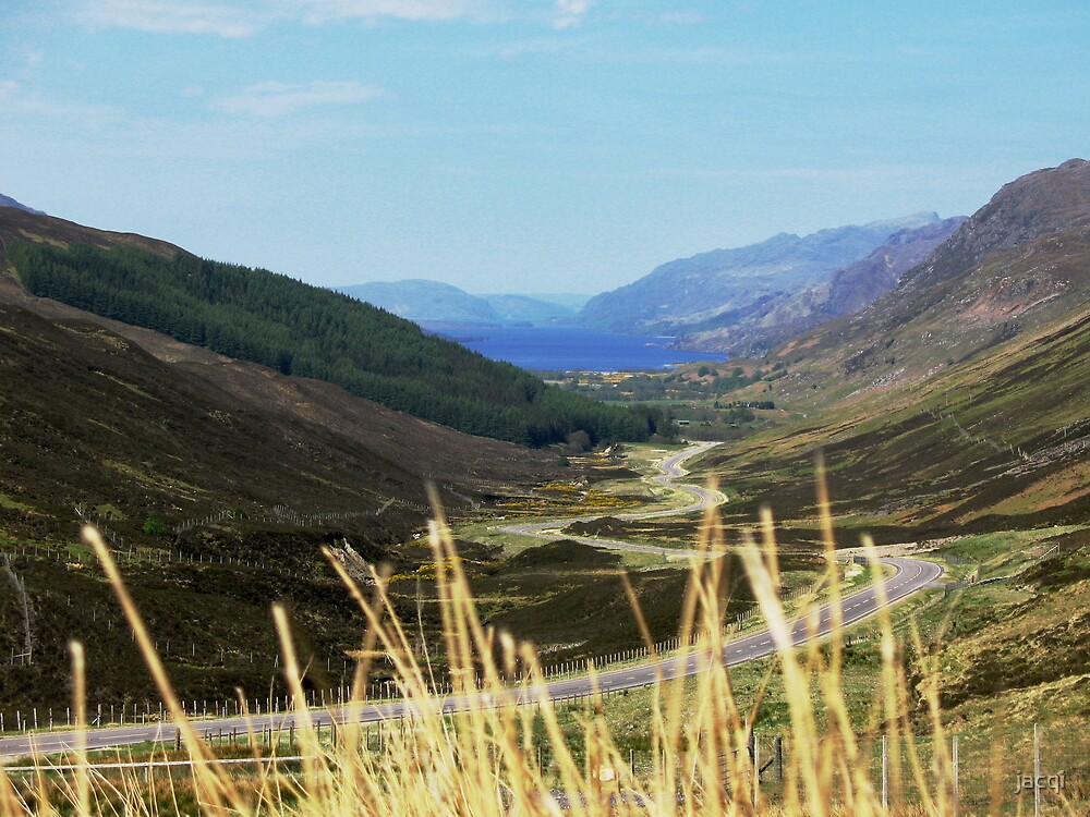 The Road to Kinlochewe by jacqi