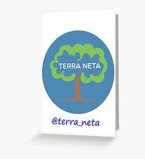 BOLSA DE TELA TERRANETA Greeting Card