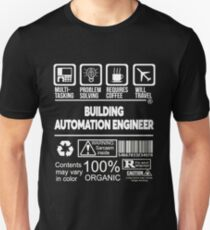 BUILDING AUTOMATION ENGINEER BEST DESIGN 2017 Unisex T-Shirt
