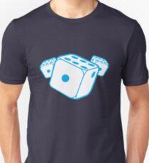 Three blue dice T-Shirt