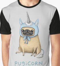 Pugicorn - Fawn Graphic T-Shirt