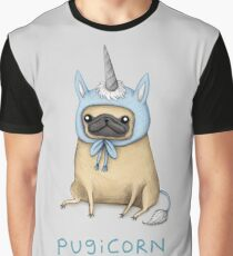 Pugicorn - Rehkitz Grafik T-Shirt