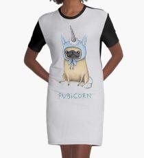 Pugicorn - Rehkitz T-Shirt Kleid