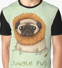 Jungle Pug Graphic T-Shirt