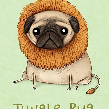 Jungle Pug by SophieCorrigan