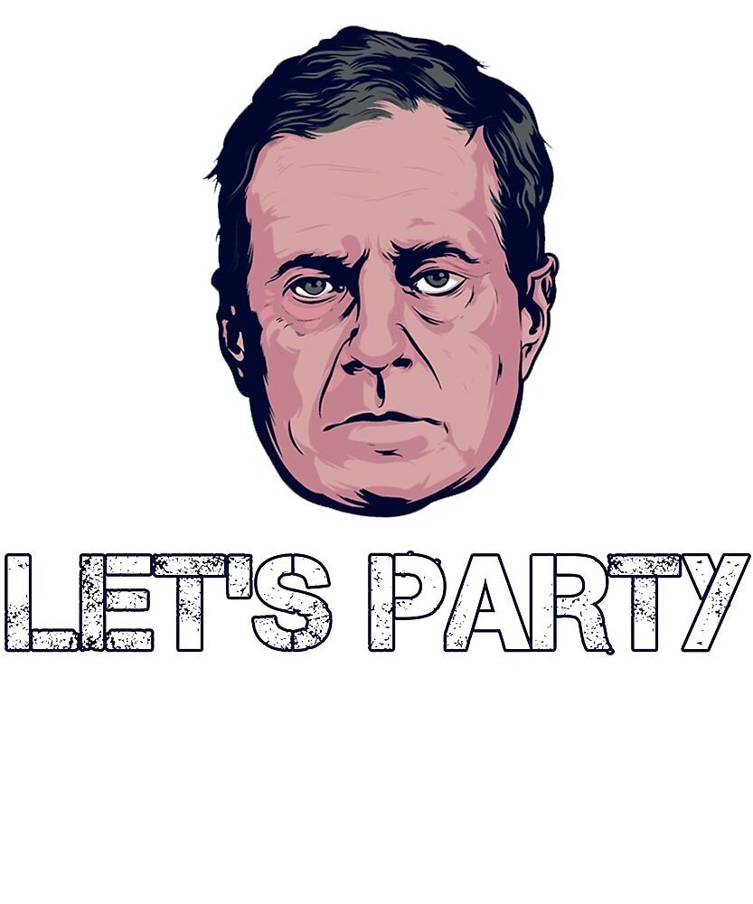 Bill Belichick Let's Party by nooor