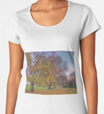 Autumn Fitzoy Gardens Tasmania Australia Women's Premium T-Shirt