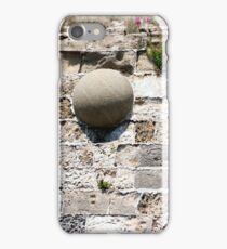 Stone core stuck in the wall iPhone Case/Skin