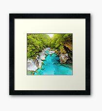 New Zealand Landscape 3 Framed Print