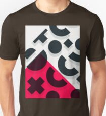 Minimal Abstract Art Pattern Geometric T-Shirt