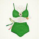 The Bikini Series: Tricolore by Sybille Sterk