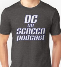 DC on SCREEN Podcast Logo (Classic, Sans Background) T-Shirt