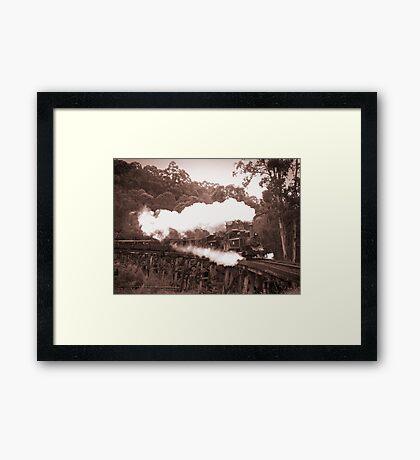Tandem Billys Framed Print