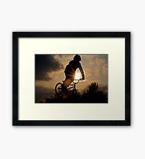 Sun Air Framed Print