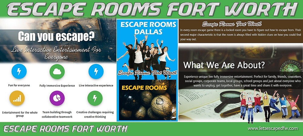 Escape Rooms Fort Worth by Escape Rooms Dallas